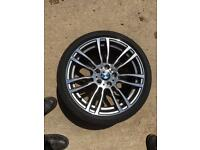 """BMW 3or4 SERIES FX MODELS """"19"""" 403 M/SPORT FRONT ALLOY WHEEL"""