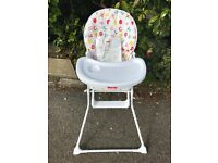 Babyco high chair with instuctions .