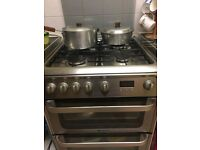 *EXCELLENT CONDITION* Hotpoint HUG61X Ultima Gas Cooker, Stainless Steel