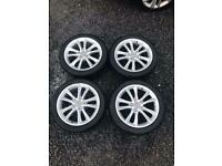"Genuine 17"" Audi Alloy Wheels. 17 inch"