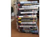 Huge PS3 bundle - 18 games and 2 controllers