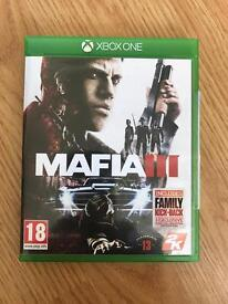 mafia 3 , as new , xbox one ! price stands , no offers ! will post !