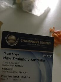 Champions Trophy Cricket Tickets-2017