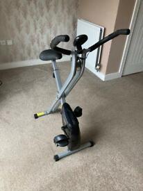 Opti foldable exercise bike