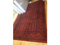 Khorasan red rug