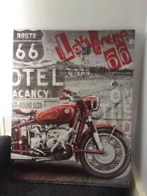 Route 66 Motorcycle picture