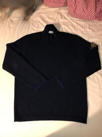 Stone island turtleneck jumper Dark navy blue XL