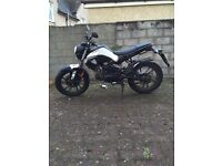 Kymco K-Pipe 50 cc, perfect first bike.