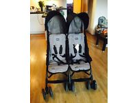 **FURTHER REDUCED** Chico Echo twin pushchair