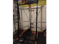 Mirafit Powercage and bench
