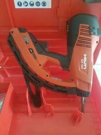 HILTI DX 120 GAS POWERED NAIL GUN