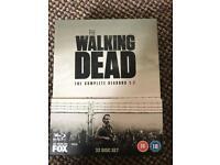 Walking Dead Season 1 To 7 on Blu Ray