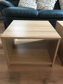 Pair of side tables/ coffee tables £5 each