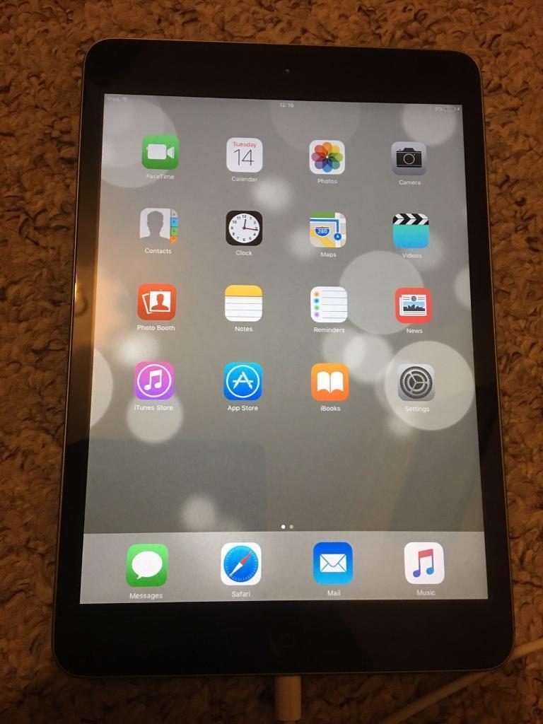 iPad Mini 2 - Space Black 16GB. Like Brand New: READ THE DESCRIPTION