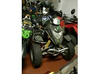 Apache barossa smc road legal quad bike 250cc not raptor quadzilla