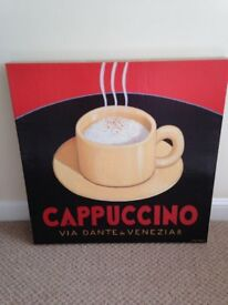 Cappuccino canvas picture perfect condition