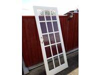 Internal door 15 paned