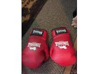 Red Lonsdale Sparr GIV90 Boxing Gloves