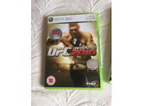 UFC fight Xbox 360 game