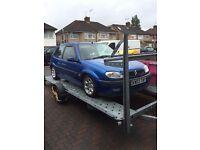 Citroen saxo VTS 16V , Blue , 71K! , car trailer - car transporter , alloy and tyres , intake kit