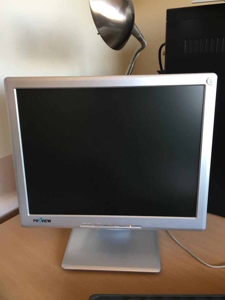 Flat screen monitor