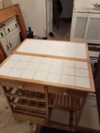 storage table for sale - must go ASAP