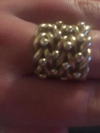 Swap for gold saddle ring