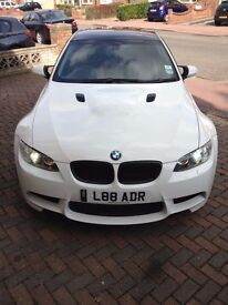 BMW M3 replica e92 2008 320i coupe alpine white HPI clear FSH 82,000 A5 C63 RS5