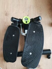 Stepper and weights for sale le3