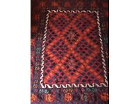 Gorgeous authentic wool Persian rug.