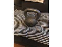 16 kg kettlebell, iron cast