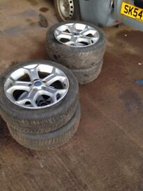 FORD MONDEO MK4 2007-2010 ALLOY WHEELS R17 WITH TYRE