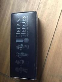Help for Heroes Shot Glasses Boxed