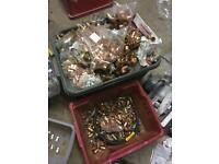 Job lot of plumbing endfeed copper fittings