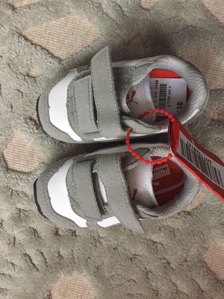 Puma boys shoes
