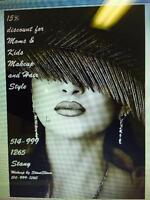 Hairdressing at your location or weatmount hair salon