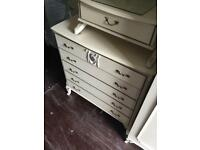 French Louis style chest of drawers can deliver or collection Teignmouth