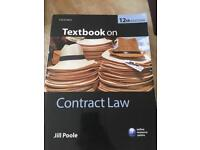CONTRACT LAW, OXFORD, By Jill Poole