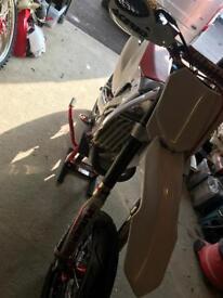 Honda crf 450R supermoto / motorcross