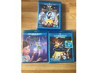 Disney bluray movies