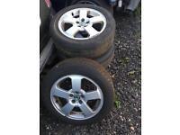 Skoda Octavia 16 Inch Alloy Wheels 205 55 16 Vw Audi