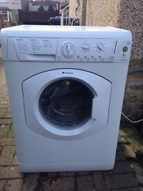 Hot point aquarius washing machine