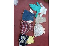 3-6 months bundle of baby girl cloths