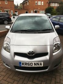 EXCELENTE CONDITION Toyota Yaris with Full Service History and low mileage.