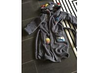 Boys M&S robot dressing gown age 7-8