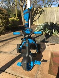 Little Tikes 4 in 1 Deluxe Trike in Blue (also have one in Pink)