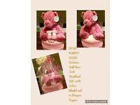 Bear Nappy Cake