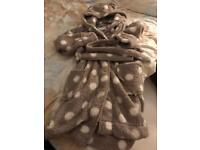 BRand new!! Dressing gown