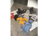 Job lot baby boys clothes 70+ items