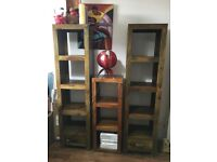 Indian rosewood book cases
